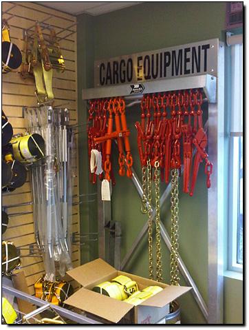 Chain Racks Coil Bunks Chain Deck Anchors Binders Winch Straps