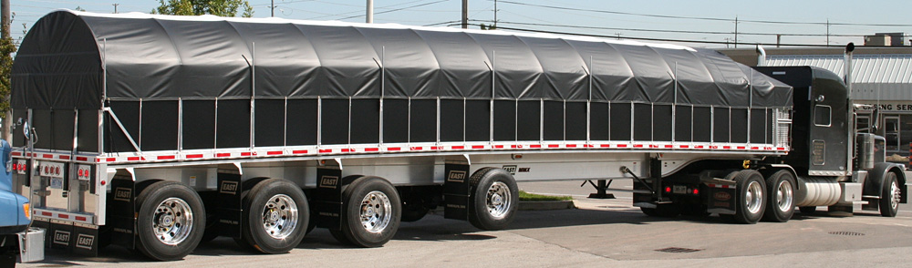 how to set up side kits on a flatbed trailer
