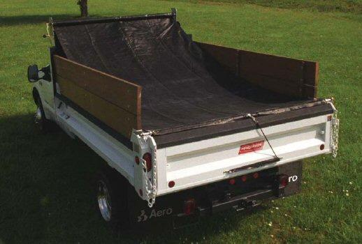 Rolling Tarps Dump Truck Trailer
