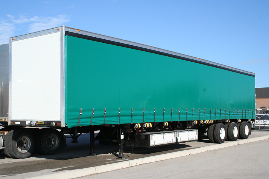 Curtain van trailer