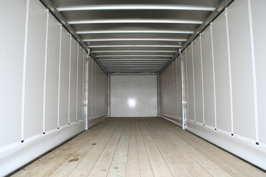 Rolling Side Curtains Flatbed Trailers