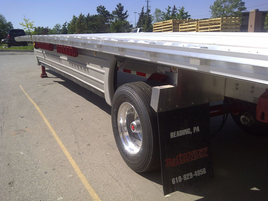 Wind Skirts Flatbed Trailers